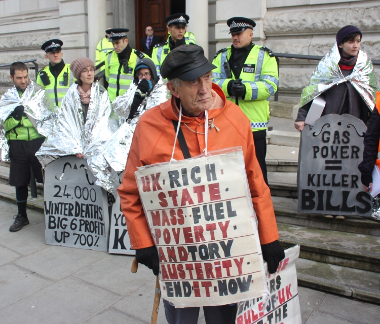 Photo: fuel poverty action